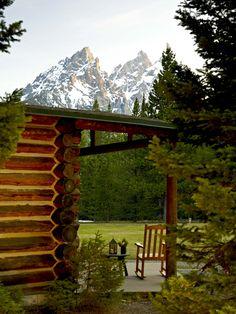 Accommodations at Jenny Lake Lodge, a wedding venue in Jackson Hole, Wyoming. #mountainwedding