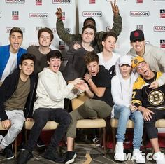EXCLUSIVE:Cameron Dallas confirmed rumors about meeting all fans of the Magcon Boys. In a place of their own choice! Cameron Alexander Dallas, Cameron Dallas, Magcon 2016, Cute Boys, My Boys, Macon Boys, Jacob Satorius, Magcon Family, Carter Reynolds