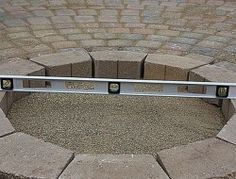 A beautiful fire pit and patio for your next DIY home decor project. Perfect for the spring so you can enjoy all summer with backyard fires. Fire Pit Landscaping, Fire Pit Patio, Outdoor Fire, Outdoor Living, Landscaping Ideas, Outside Fire Pits, Building A Patio, Types Of Fire, Fire Pit Materials