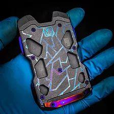 F22 TITANIUM WALLET | VICE HARDWARE Titanium Wallet, Aluminum Wallet, F22, Edc Gear, Carbon Fiber, Hardware, Computer Hardware
