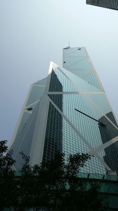 Bank of China Tower by I.M.Pei / Hong Kong@Arch by Kenzo*, via Flickr