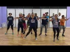 Touchdown Remix - Choreo by Lauren for CLUB FITZ - YouTube  Did 45 minutes of this lady's zumba videos and they are no joke! Squats, pushups, burpees in zumba.. wwhhaaaat! 45 minutes, 265 calories, 10/28/14