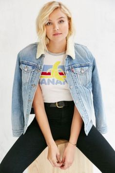 Truly Madly Deeply Banana Tee - Urban Outfitters