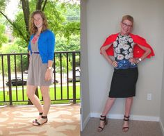 What We Wore: Bright Colors | Two Take on Style