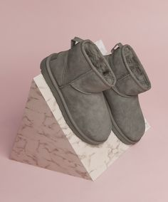 The UGG Classic Mini II Ugg Classic Mini, Baby Boom, Bow Sneakers, Fenty Puma, Shoe Shop, Kid Shoes, Uggs, Ankle Boots, Footwear