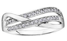 white gold with one white gold band featuring diamonds. Right Hand Rings, White Gold Rings, Fashion Rings, Round Diamonds, Diamond Rings, Heart Ring, Engagement Rings, Band, Bracelets
