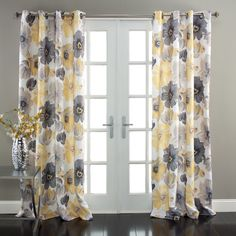 Lush Decor Leah Room Darkening 84-Inch Curtain Panel Pair - Overstock™ Shopping - Great Deals on Lush Decor Curtains