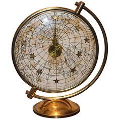 themagicfarawayttree:  50's Hermes Celestial Clock