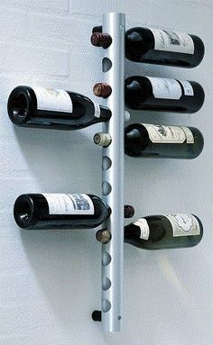 Wall-Mounting-Stainless-Steel-Tube-Wine-Rack