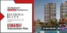 #SobhaCityGurgaon: Prime Address OF Gurugram With Smart Home Space.