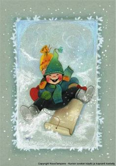 Kaarina Toivanen Christmas Illustration, Children's Book Illustration, Illustrations, Christmas Clipart, Christmas Crafts, Christmas Ornaments, Winter Pictures, Christmas Pictures, Winter Christmas