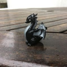 Evil Wyvern Dragon by JinjinCrafts Handmade with Polymer Clay