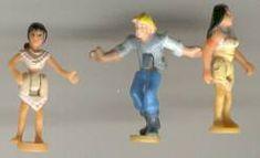 1995 - Disney Pocahontas Powhatan Home - Bluebird Toys    Mattel #14197 Tiny Collection