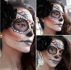 Jeweled sugar skull