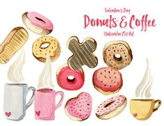 Donuts and Coffee Va