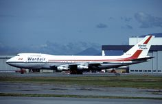 Wardair Boeing 747 at Vancouver Airport in 1983 (I flew out of YVR to London Gatwick in Airbus A380, Boeing 747, Air Travel, Travel Usa, Canadian Airlines, Columbia Country, Jumbo Jet, The Good Old Days, My Ride