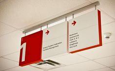 Signange at Seneca King Campus Directional Signage, Wayfinding Signs, Outdoor Signage, Hospital Signage, Navigation Design, Office Signage, Retail Signs, Airport Design, Sign System