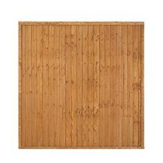 Larchlap Heavy Duty Closeboard Fence Panels 1.8 x 1.8m 9 Pack   Closeboard…