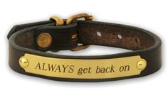 horse bracelet from wildhorsefeathers.com