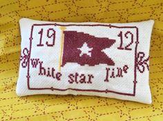 Titanic 1912 Souvenir pattern