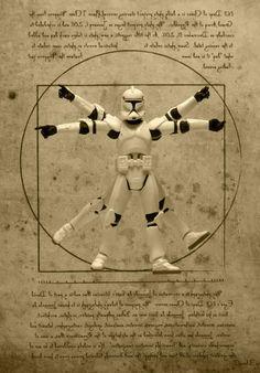 Imágenes famosas figuras Clone Troopers