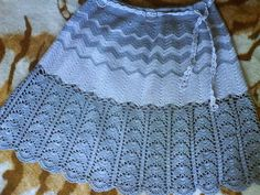 Crochet Skirt - Free Crochet Diagram - (ideascaramelo.blogspot)