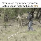 Don't f**k with his pupper funny pics, funny gifs, funny videos, funny memes, funny jokes. LOL Pics app is for iOS, Android, iPhone, iPod, iPad, Tablet