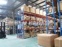 2016 Height 4500mm heavy duty warehouse pallet racking system