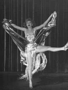 """Dancer/actress Lucille Ball dancing in scene from the movie """"Dance Girl, Dance. Golden Age Of Hollywood, Vintage Hollywood, Hollywood Stars, Classic Hollywood, Hollywood Actresses, Actors & Actresses, Louis Hayward, Lucy Movie, Queens Of Comedy"""