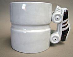Roller skate mug.