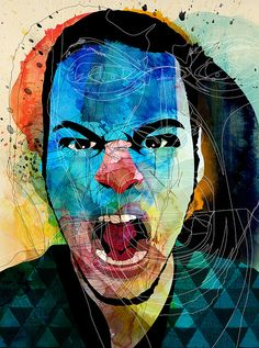 Angry People 11 / Ozil [Brazil] by alvaro tapia hidalgo, via Flickr