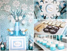 Icy Blue Holiday