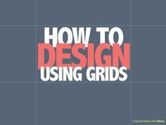 Improve your visual content just by using grids. Here are simple tips on how to design using grids for your graphic design, content design, or visuals. #DesignTips #ContentTips