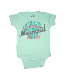 Hey, I found this really awesome Etsy listing at https://www.etsy.com/listing/209996570/mermaid-baby-one-piece-infant-graphic