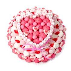 Découvrez nos créations gourmandes autour du bonbon. Gâteaux de bonbons, bouquets de bonbons, SMS bonbons. Fabrication artisanale française et livraison rapide !