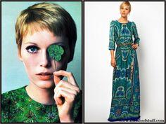 The Life of Stuff   Personal and Irish Lifestyle Blog: Weekly Fashion Fix   Movie Star Inspiration Mia Farrow Mango Dress