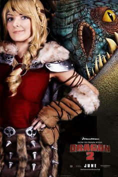 """Awesome Astrid Cosplay From """"How To Train Your Dragon 2″"""