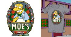 Moe's Tavern on Threadless