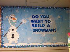 Frozen themed classroom door - Google Search Procedural writing bulletin board?