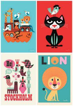 Page Thirteen: + loving: Prints By Ingela P Arrhenius