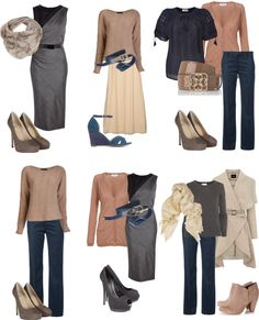 """soft seasons basic colors"" by sabira-amira ❤ liked on Polyvore"
