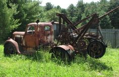 OLD TOW TRUCK by richie 59, via Flickr