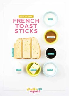 Learn how to make French Toast Sticks at home with this easy step-by-step guide! Homemade French Toast, Make French Toast, Birthday Party Treats, Birthday Brunch, French Toast Sticks, Decadent Chocolate Cake, Texas Toast, Punch Recipes, Party Recipes