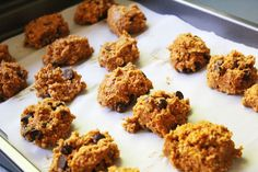 Pumpkin Oatmeal Cookies (desserts with oatmeal ovens)