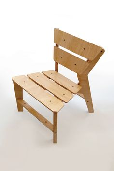 Kross Chair - CNC Furniture Design by lesmo. Download the files for free soon.