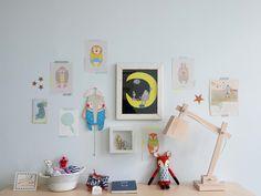 Aidan's Dreamy Room in Germany- washi tape to hold up flashcards Boy Decor, Kids Decor, Nursery Decor, Nursery Art, Blog Bebe, Boy Blankets, Nursery Neutral, Baby Boy Nurseries, Kid Spaces
