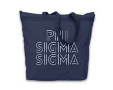 Tote is made of 600 denier polyester for extra durability with vinyl application. Tote measures x x Engraved Tumblers, Phi Sigma Sigma, Bid Day, Drink Sleeves, Reusable Tote Bags, Zipper