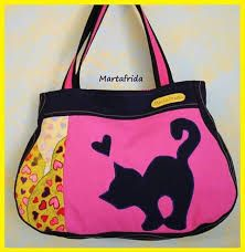 Bildergebnis für borse feltro con gatti