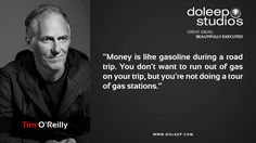 """""""Money is like gasoline during a road trip. You don't want to run out of gas on your trip, but you're not doing a tour of gas stations."""" #business #entrepreneur #fortune #leadership #CEO #achievement #greatideas #quote #vision #foresight #success #quality #motivation #inspiration #inspirationalquotes #domore #dubai#abudhabi #uae"""