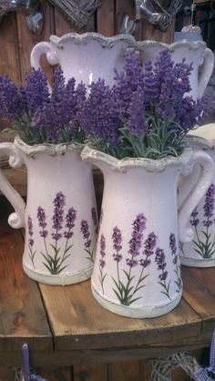 #containers, #planters, #pottery, #pots  *Lavender
